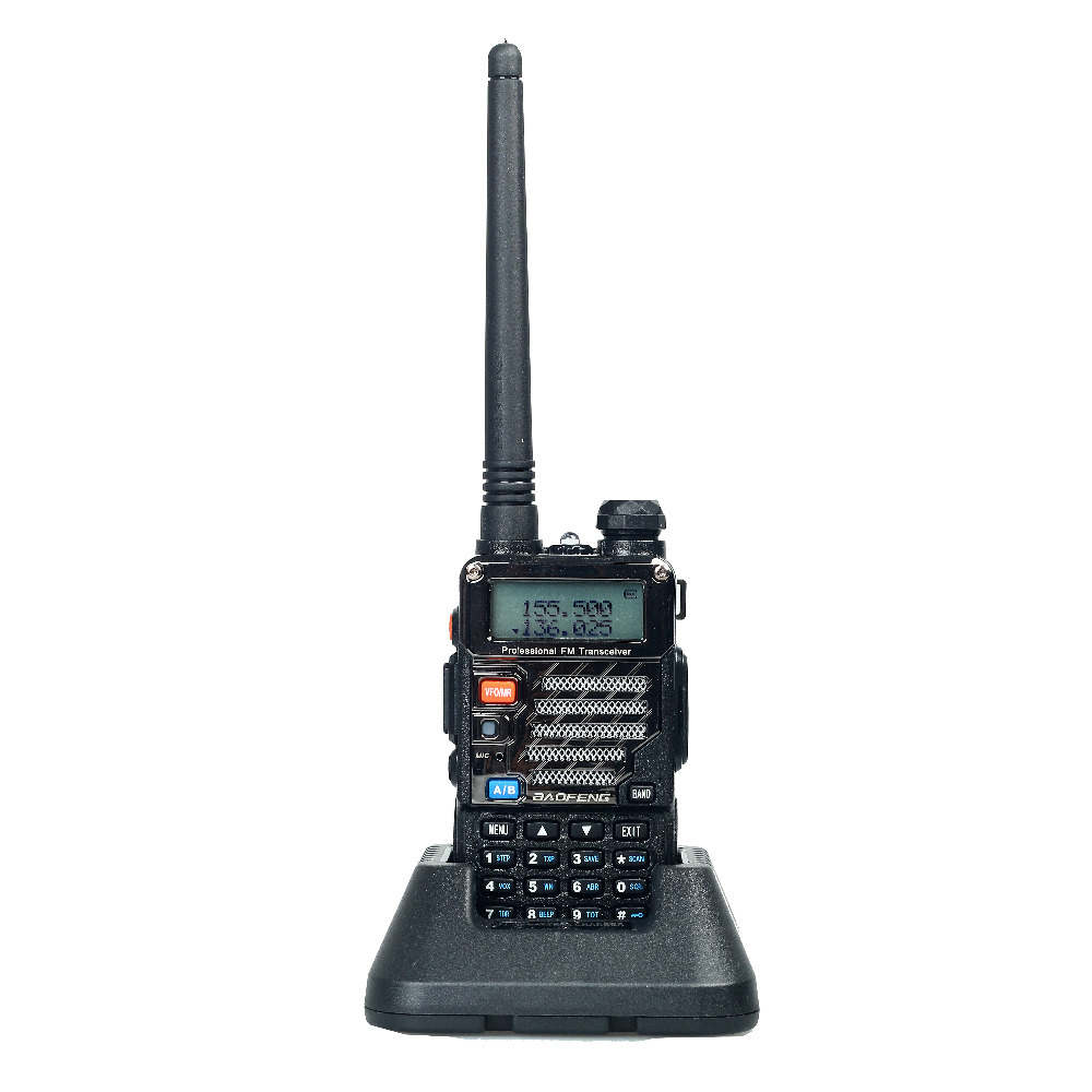 Baofeng UV-5RE Plus Walkie Talkie Dual Band Two Way Radio Pofung UV 5RE 5W 128CH UHF VHF FM VOX Dual Display radio comunicador(China (Mainland))