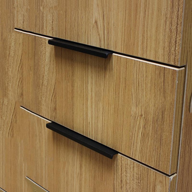 Noir armoire meubles promotion achetez des noir armoire for Poignee de porte armoire cuisine