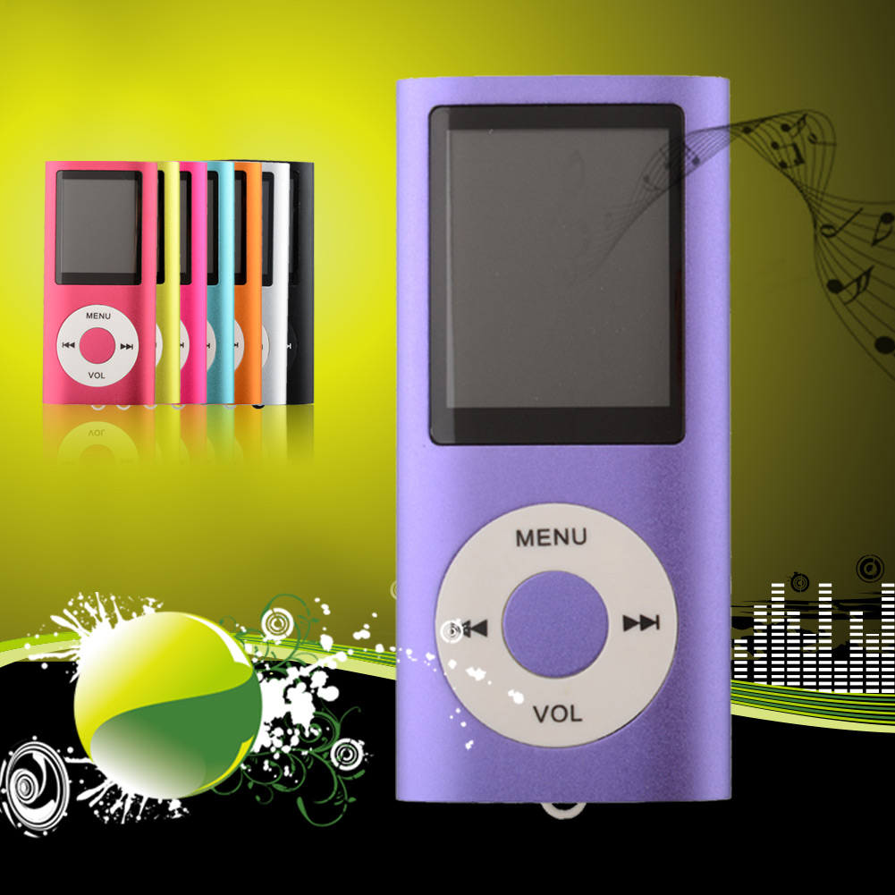 16GB 8 Colors MP3 MP4 4TH GENERATION MUSIC MEDIA PLAYER LCD SCREEN MOVIE VIDEO Radio 1.8 inch Screen(China (Mainland))