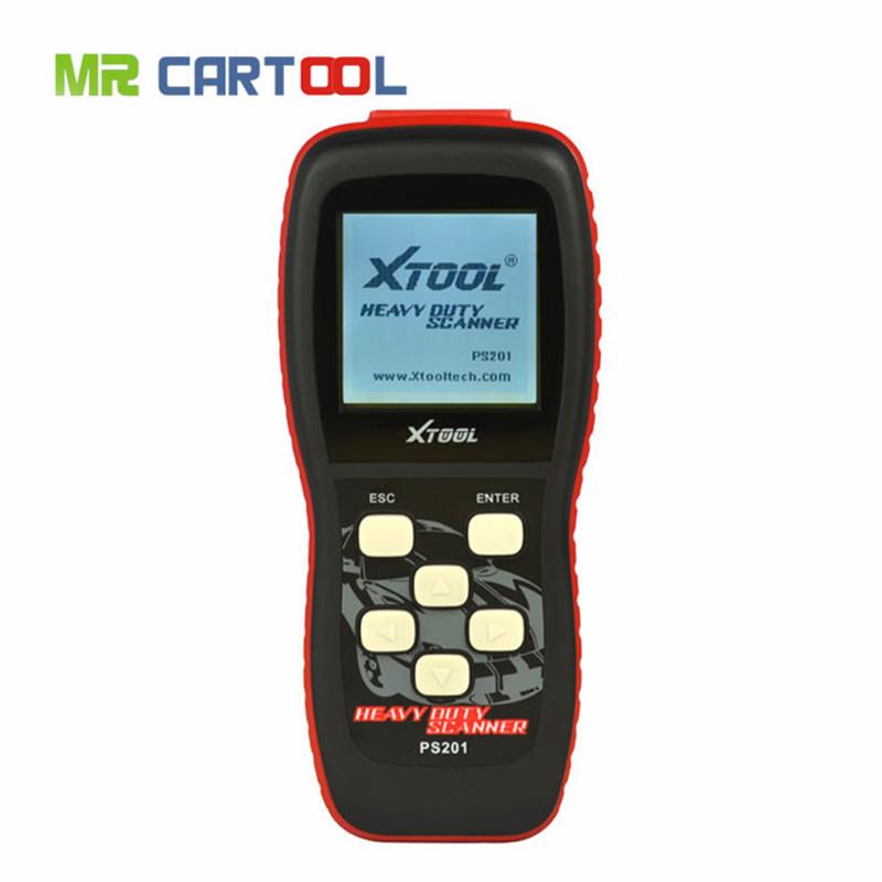 Top Selling High Quality 100% Original Xtool PS201 Diesel OBD2 Scanner 2016 High Quality Original Professional Diesel Tool(Hong Kong)