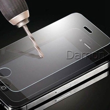 New 2.5D Premium Tempered Glass Screen Protective Film for iPhone4 4S 4G Anti-shatter Glass Screen Protector With Retail Package