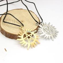 Daren wholesale Supernatural men of letter pendant Necklace(China (Mainland))