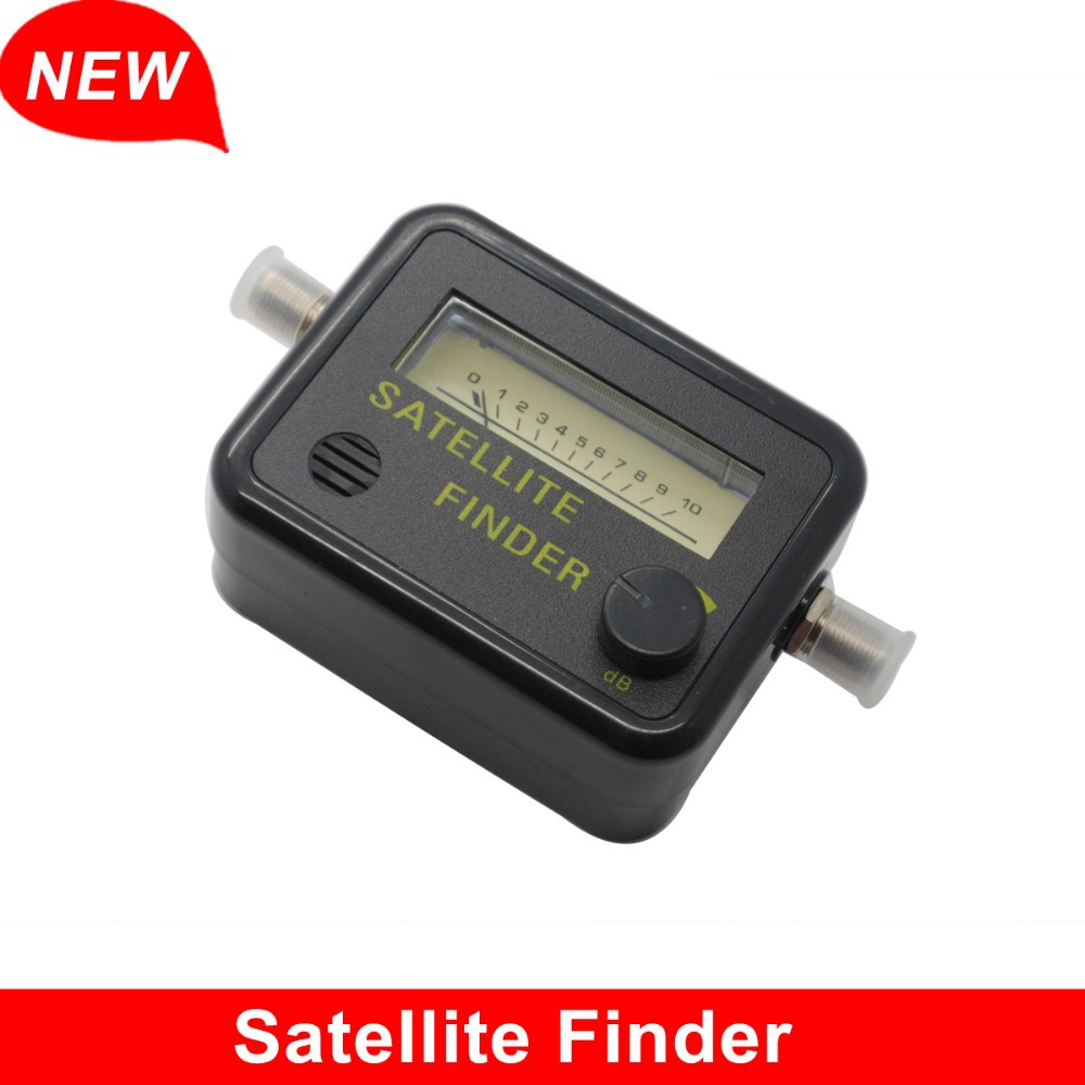 LY Digital Satellite Finder Meter FTA LNB DIRECTV Signal Pointer SATV Satellite TV Receiver Tool for SatLink Sat Dish(China (Mainland))