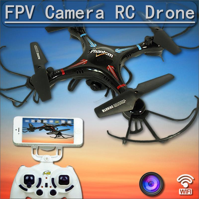 FPV Cam Drone Quadcopter Control by WIFI Iphone Andriod Best Quality Helicopter With optional camera X8G X8W X5C X5SW F181 FSWB(China (Mainland))