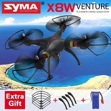 SYMA X8W FPV RC Quadcopter Drone with WIFI Camera SYMA X8C 2MP Wide Angle 2.4G 4CH 6Axis RC Helicopter VS MJX X101 Gift Battery(China (Mainland))