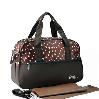 new dot printing baby diaper bags multifunctional mummy big handbag baby nappy stroller bag Shoulder Messenger maternity bags