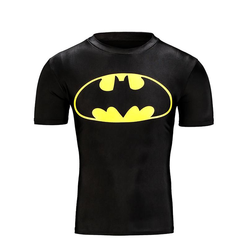 2016 new design summer t shirt superman batman captain for Make t shirts fast