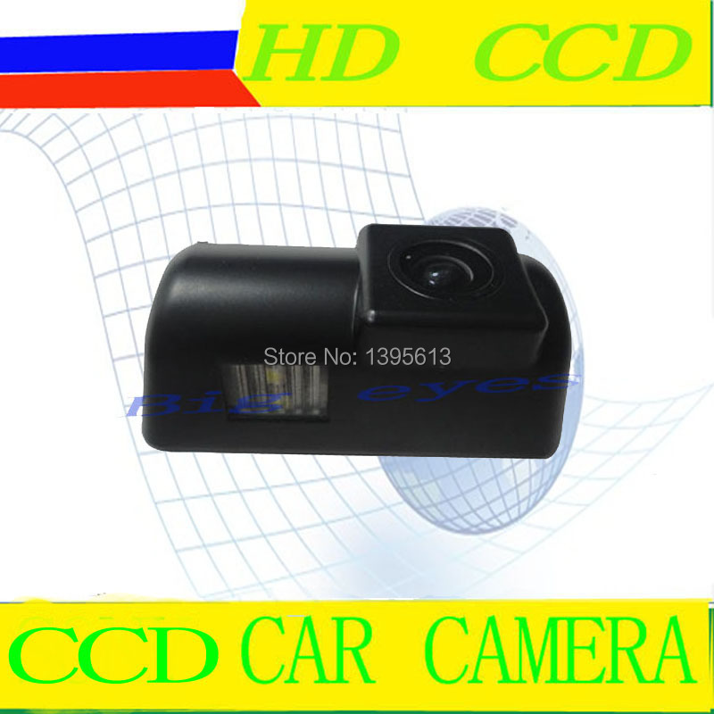 CCD car license/number plate lamp reversing rear view camera for Ford Transit Connect(China (Mainland))