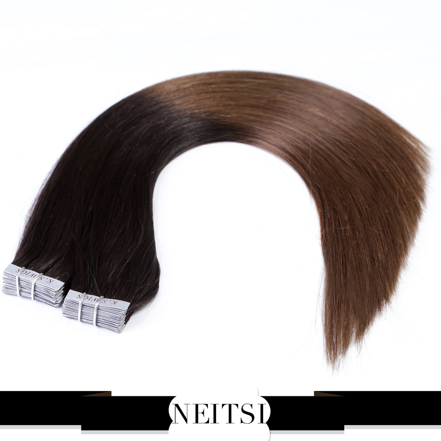 Skin Weft Extensions Ombre 77