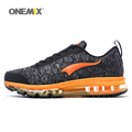 ONEMIX Man Running Shoes For Men Nice Run Athletic Trainers Black Zapatillas Sports Shoe Max Cushion