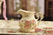 Quality wedding gift fashion coffee cup tea set d Angleterre ceramic derlook afternoon tea set