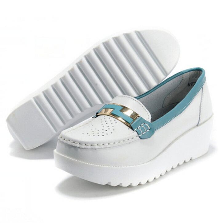 Brand New 2015 Fashion Platform Air Cushion Lovers Wedge Sneakers Men Women Evalator Sport Shoe Male Knit Lazy Shoes(China (Mainland))