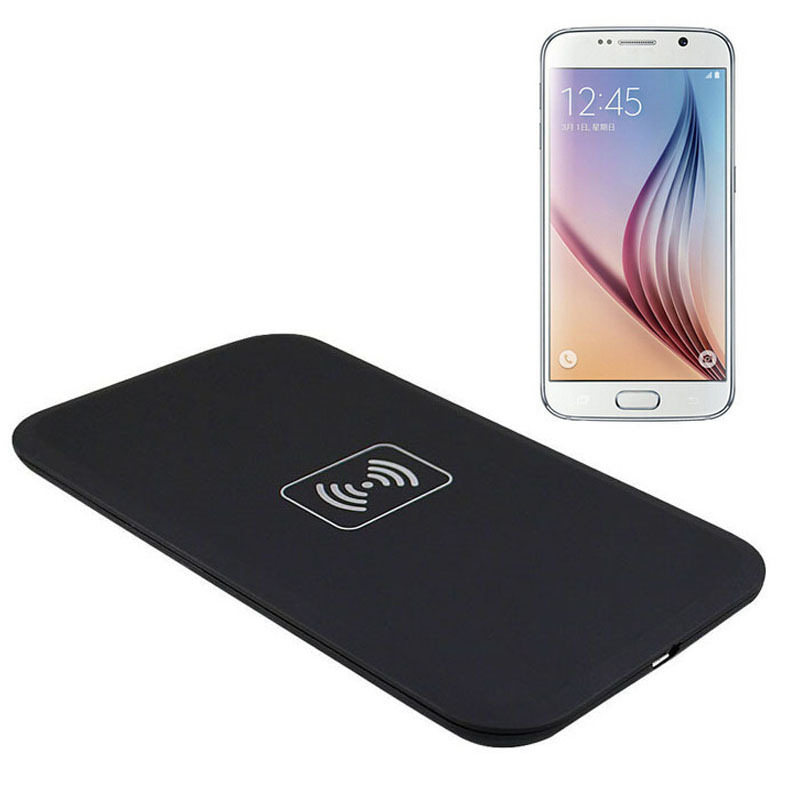 HIgh Quality 1PC Qi Wireless Charger Charging Pad for Samsung Galaxy S6 G9200 Smart Phone Free Shipping&Wholesales