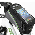2016 new Cycling phone bag reflective stripe dirt resistant cover bicycle Saddle bag for iP4s 5s