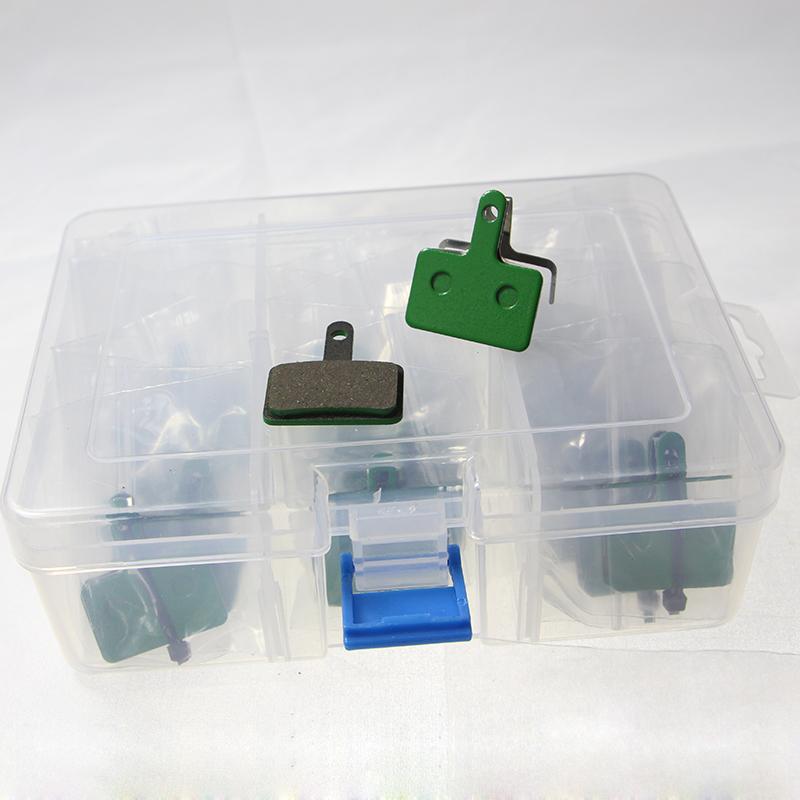 20 pairs Green bicicleta bicycle disc brake pads for Shimano M375 395 486 485 475 416 446 515/tektro Orion / Auriga Pro/ Gemini(China (Mainland))