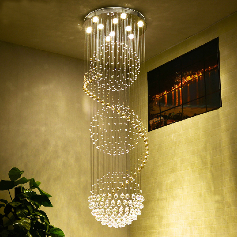Buy Round Ball Chandelier Living Room Modern Crystal Chandel
