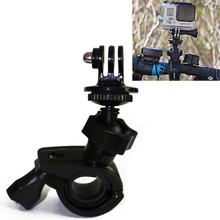 Buy Gopro Rotatable Bike Bicycle Handlebar Mount Holder Adapter Motorbike Clip Support Bracket Gopro Hero 4 3+ 3 SJCAM Xiaomi Yi for $2.39 in AliExpress store