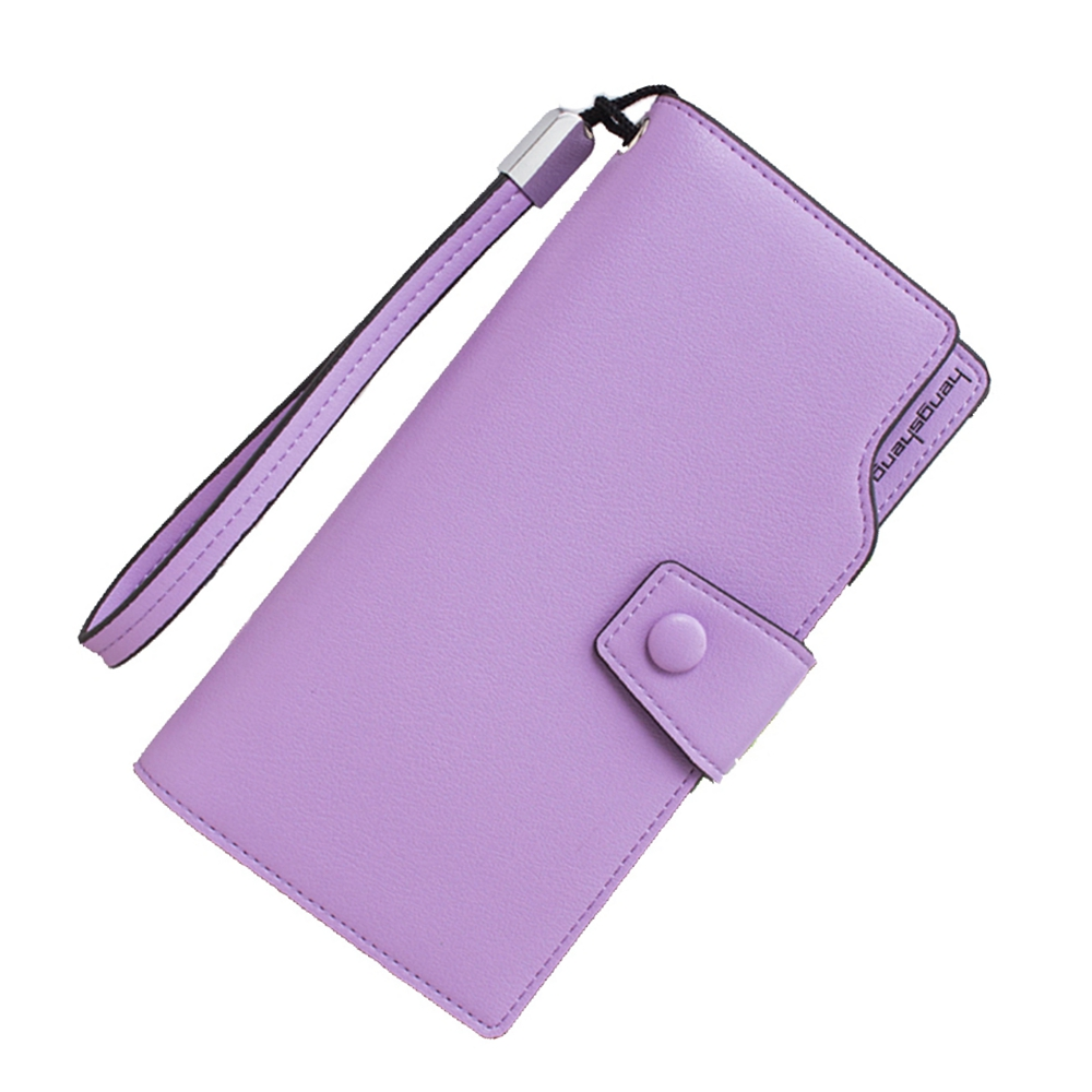2016 Famous Brand Women Genuine Leather Zipper Large Capacity Long Clutch Wallet, Male Solid Burglar Robbed Space Soft Purse(China (Mainland))