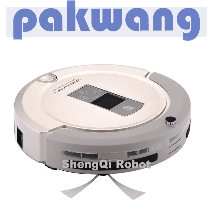 2015 NEW design robotic vacuum cleaner,super mini bagless corldless household portable robotic vacuum cleaner motor(China (Mainland))