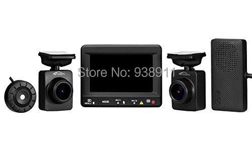 FREE SHIPPING ! Full HD 1080p Dual Dash Camera GPS Ambarella A7LA70 Car DVR 2CH Hidden Driving Video Recorder K1S(China (Mainland))