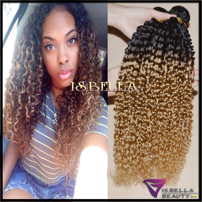 Weave Hairstyles With Two Colors Images
