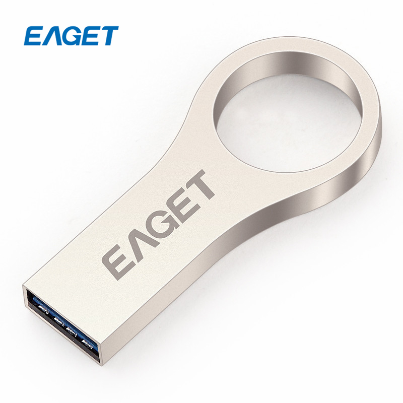 EAGET U66 USB 3.0 Flash Drive 16gb 32gb 64gb Metal Casing Key Ring USB 3.0 Memory Stick Encryption Pen Drive 32gb(China (Mainland))