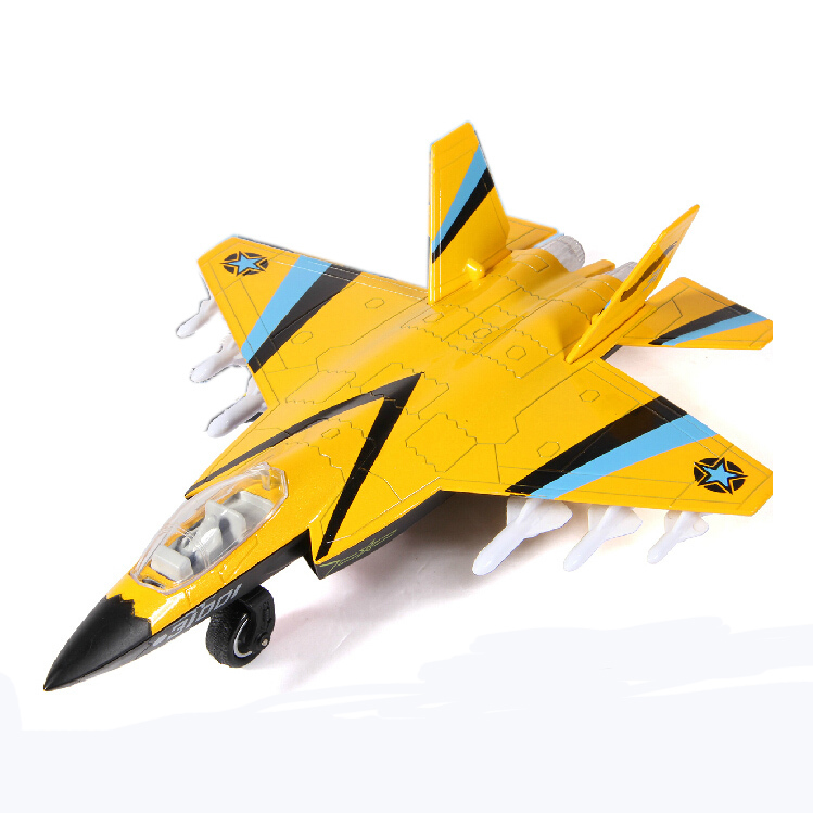 22CM Alloy Diecast Plane Model J-31 Fighter Model Pull Back Light&Sound Aircraft Model Gift for Kids(China (Mainland))