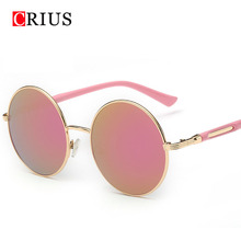 2016 new cat eyes women's sunglasses for women summer style vintage sun glasses round woman sun glasses oculos brand band(China (Mainland))