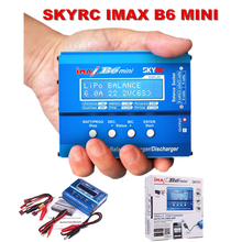 100% Original SKYRC IMAX B6 MINI 60W Professional Balance Charger Discharger For RC Battery Charging Re-peak Mode for NIMH/NICD(China (Mainland))