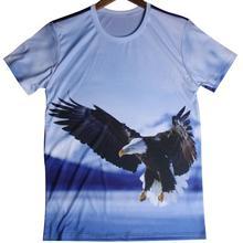 Top Quality Cheap Casual Eagles 3D T Shirt Cheap Brand Animal Printed T-shirt Popular Design Men T Shirts Europe Size