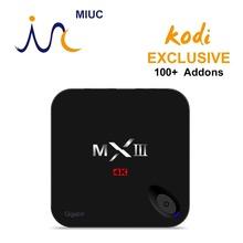 [Genuine] XBMC KODI Fully Loaded 2G/8G MXIII Plus/MXIII-G Android 5.1 Amlogic S812 Quad Core Smart TV Box HDMI 5G-Wifi 4K H.265