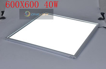 100pcs  60W LED Panel Light, Equal to 80W Fluorescent Bulb, 4000lm, Warm White, 600*600mm, Square Ceiling Light(China (Mainland))