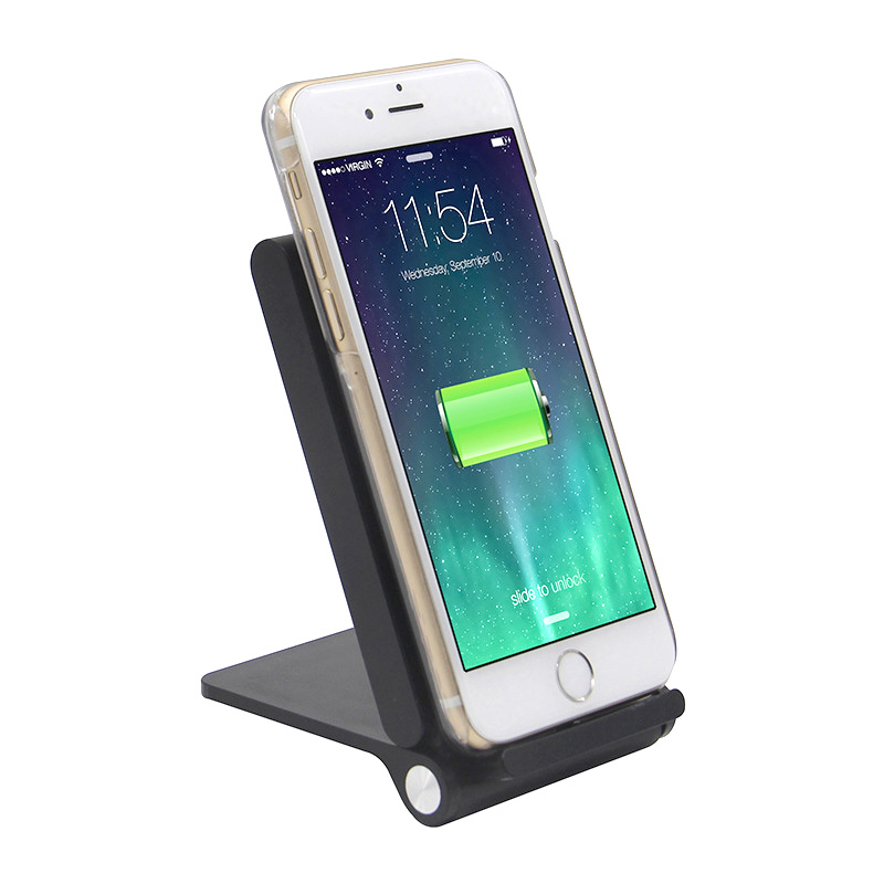 Hot sale three coils wireless charging pad for Samsung S6/s6 Edge/S7/Note 5 Foldable QI ultra slim wireless transmitter cradle(China (Mainland))