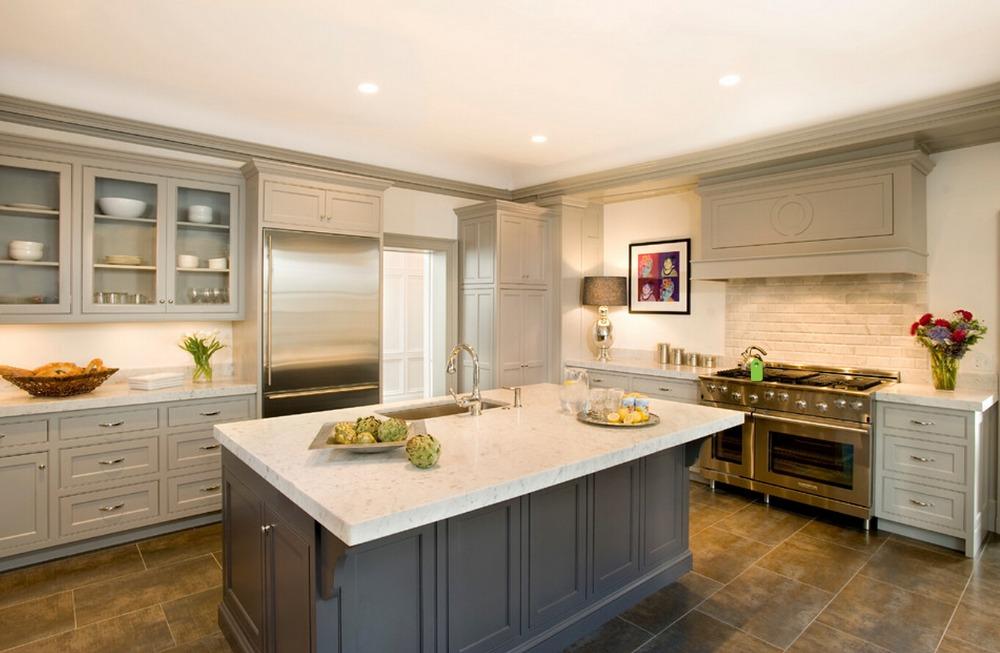 Taupe kitchen