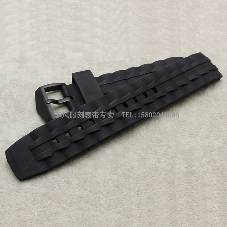 Replacement 22mm New Mens Watch Band EF-550 Black Waterproof Rubber Watchbands Strap<br><br>Aliexpress
