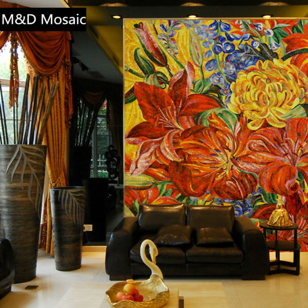 Online buy wholesale glass mosaics mural from china glass mosaics ...
