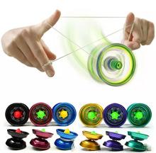 Alliage en aluminium fraîche conception haute vitesse YoYo billes professionnel ayant Trick String yo - yo enfants magie jonglerie jouet(China (Mainland))