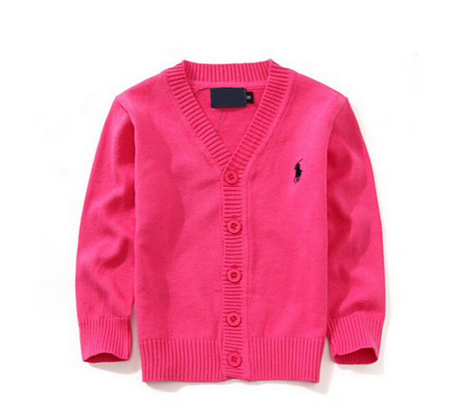7 Colors Girls Cardigan 2015 Brand Polo Sweater Baby Boys Sweater Child Knitted Pullovers Cardigans para for Girl boy clothes(China (Mainland))