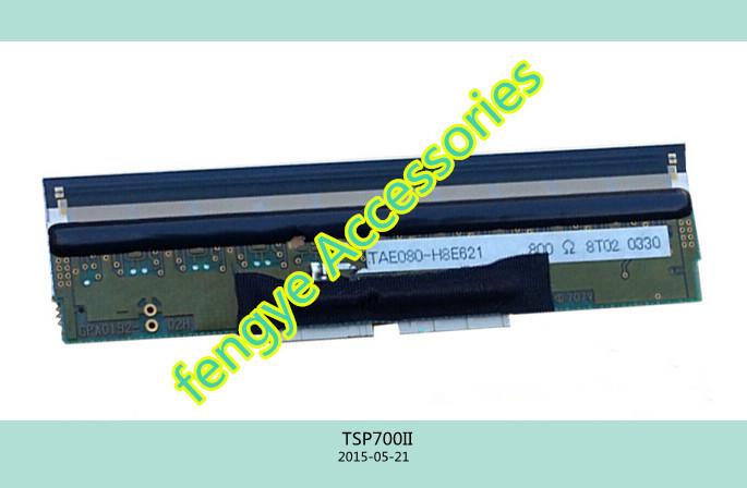 Wholesale 99% New for Original Printhead for Star TSP700II Thermal Print Head printer head good working(China (Mainland))