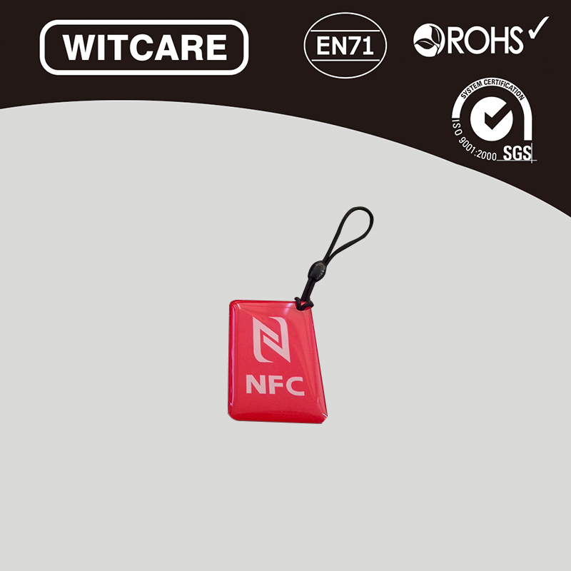 Гаджет  (4PCS/LOT) 13.56MHz Smart NFC Tag For Andriod NFC Mobile ISO14443A Epoxy Waterproof for Samsung,Nokia,HTC * free shipping None Безопасность и защита