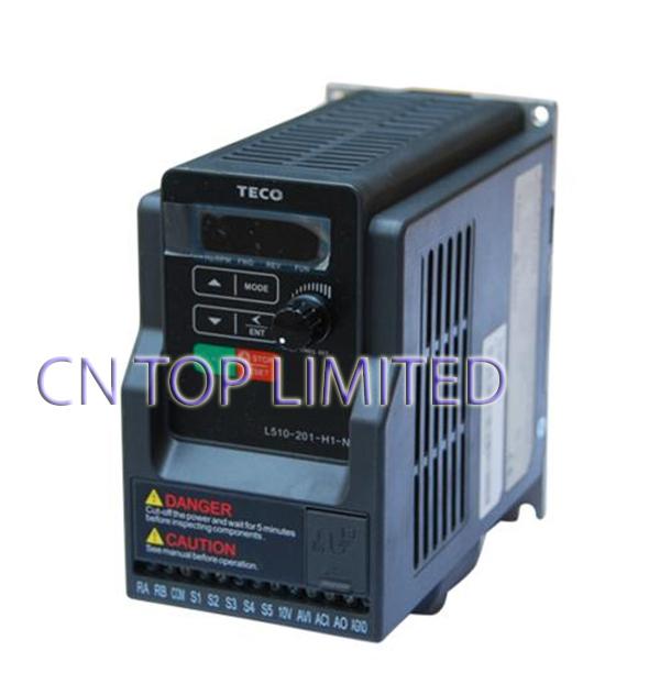 TECO 1 phase  220V 4.3A 0.75KW 1HP  Inverter L510-201-H1-N NEW<br><br>Aliexpress