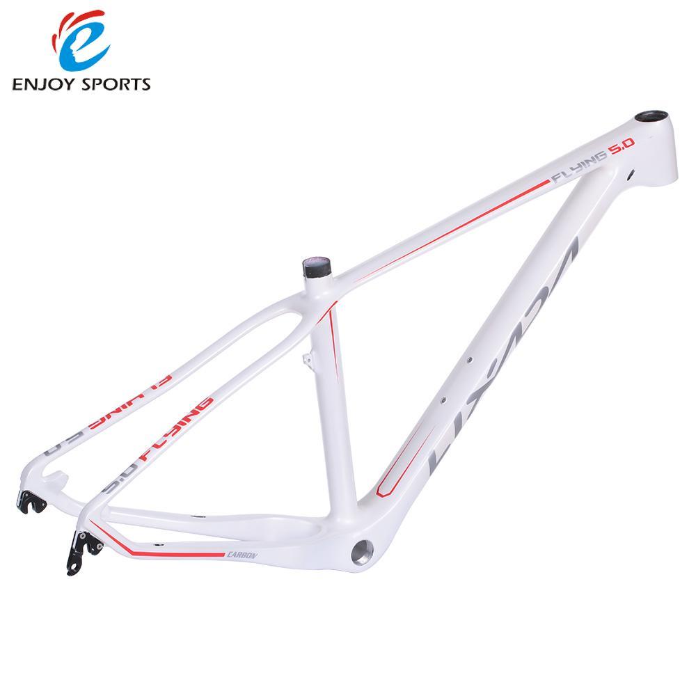 """Lixada 15.5"""" Full Carbon Fiber Road Bike Frame fixie Fixed Gear Track Bike Frame for 27.5"""" Wheels Bicycle Frame(China (Mainland))"""