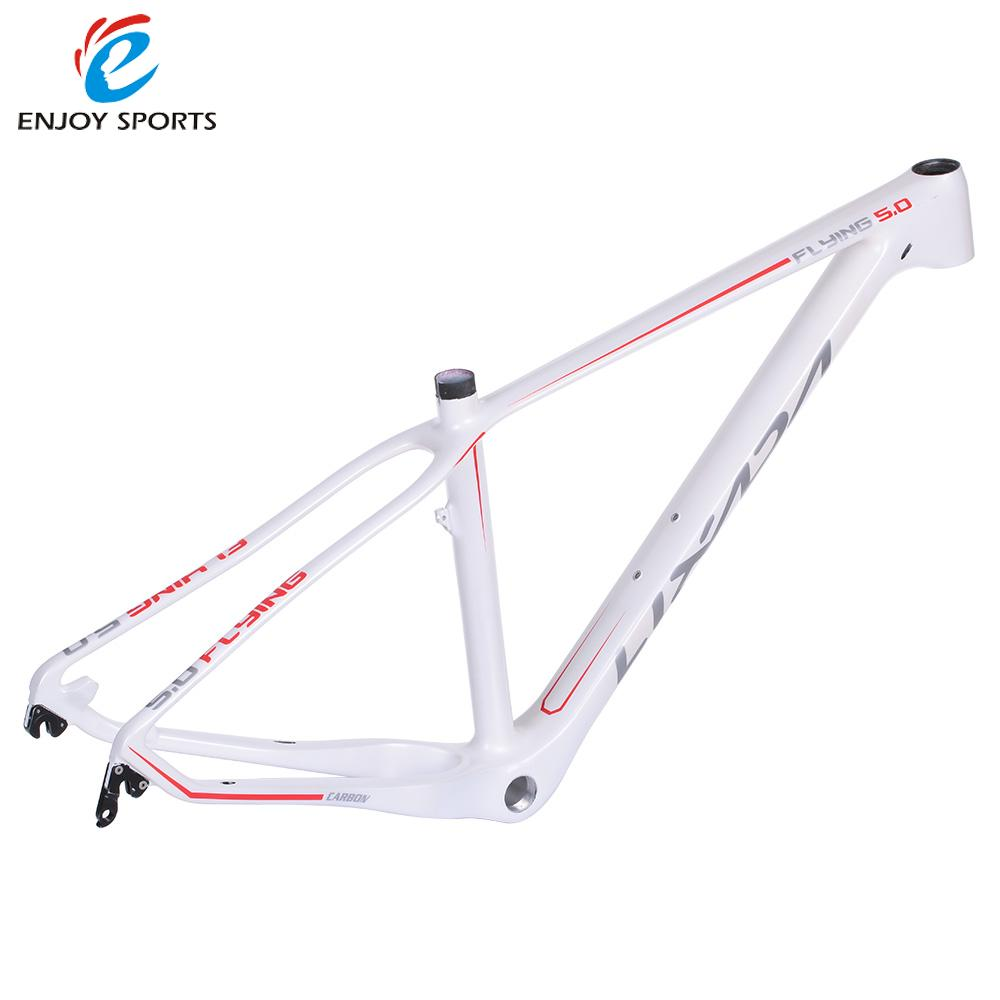 "Lixada 15.5"" Full Carbon Fiber Road Bike Frame fixie Fixed Gear Track Bike Frame for 27.5"" Wheels Bicycle Frame(China (Mainland))"