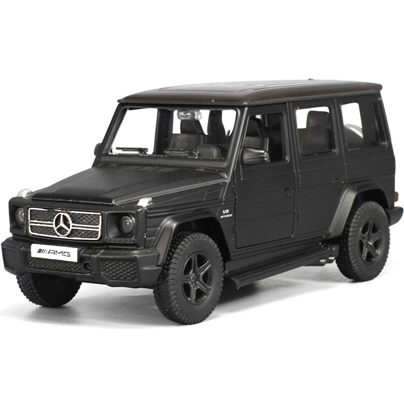 Free Shipping 1PC High Quality RMZ City 1/36 Benz G63 Die Cast Car Toy Model Pull Back Car ModelChildren Friend Gift(China (Mainland))