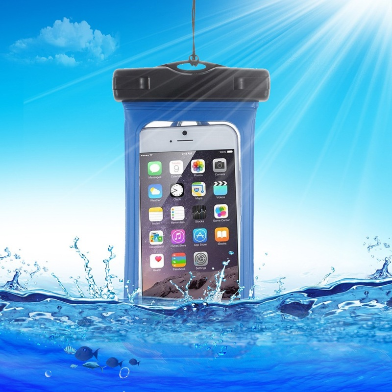 Quality V3 Waterproof Protective TPU + Plastic Bag Case Cover for iPhone Samsung Sony, size: (15.3 x 8)CM(China (Mainland))