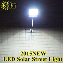LED Solar Lamp Sensor Waterproof Street Light Solar 15LEDs Outdoor Garden Path Wall Lamp Security Spot Lighting Jardin(China (Mainland))