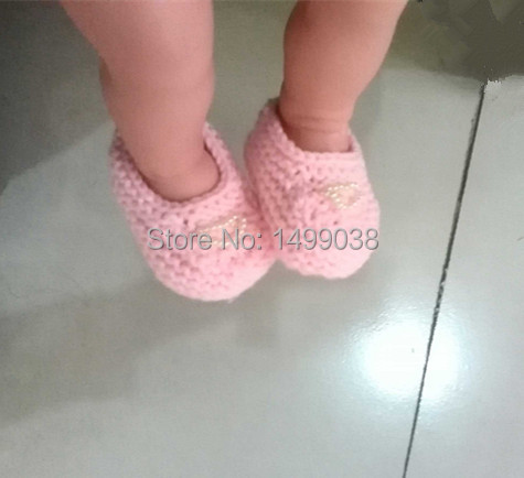 2 pair shoes a lot Best Quality 0-12M Toddler Baby kids Shoes Handmade Weave Wool Cartoon Infant Crochet children girl Shoes(China (Mainland))