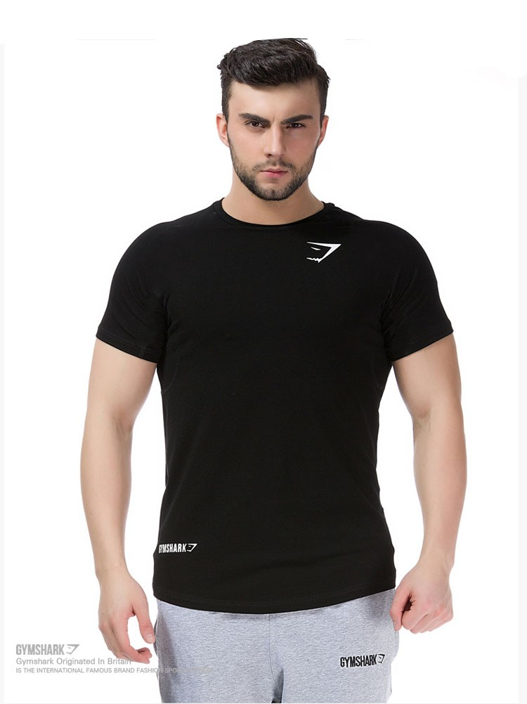 Online buy wholesale body fit fitness from china body fit Fitness shirts for men