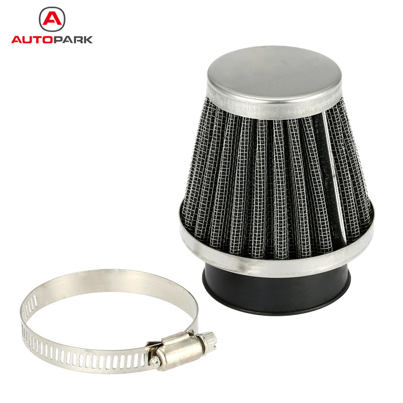 High Quality Double Layer Steel Filter Gauze Clamp-on Air Filter 35mm 38mm 39mm 42mm 46mm 48mm Optional for Scooter Minibike ATV(China (Mainland))