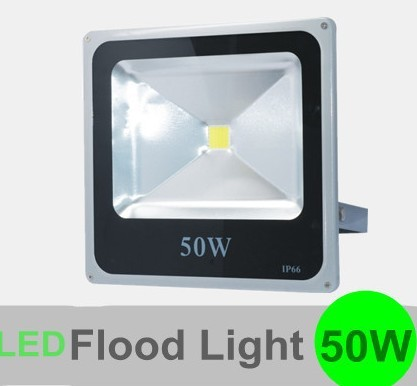 CE & ROHS approved New Arrival 50W LED Flood light outdoor lighting AC85-265V 2 Years Warranty by Express 10pcs/lot(China (Mainland))